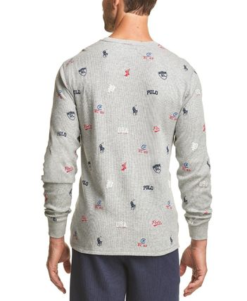 Ralph Lauren Long Sleeve T-shirt Logo Surf Style Long Sleeves Cotton