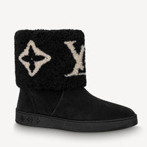 Louis Vuitton Logo Boots Boots