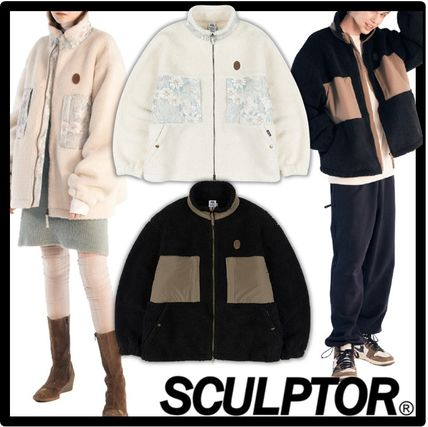 SCULPTOR Casual Style Unisex Street Style Jackets