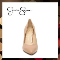 Jessica Simpson Pointed Toe Casual Style Faux Fur Street Style Pin Heels Party Style 5