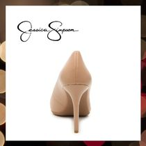 Jessica Simpson Pointed Toe Casual Style Faux Fur Street Style Pin Heels Party Style 6