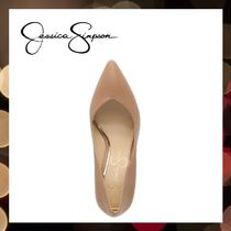 Jessica Simpson Pointed Toe Casual Style Faux Fur Street Style Pin Heels Party Style 7