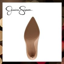 Jessica Simpson Pointed Toe Casual Style Faux Fur Street Style Pin Heels Party Style 8
