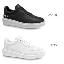 Louis Vuitton 2020-21 AW BEVERLY HILLS TRAINERS noir blanc sneakers