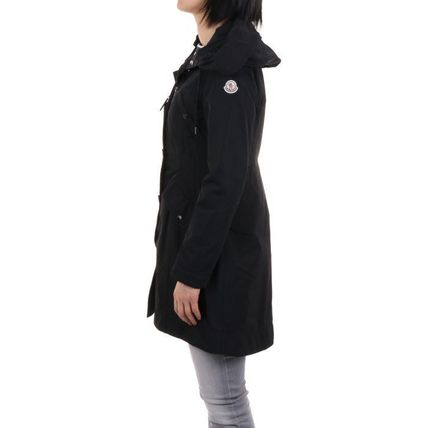 MONCLER Plain Medium Coats