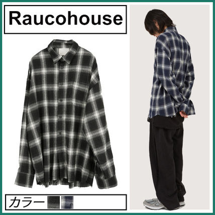 Raucohouse Street Style Logo Shirts