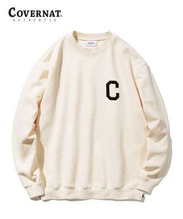 COVERNAT Sweatshirts Long Sleeves Logo Sweatshirts 2