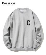 COVERNAT Sweatshirts Long Sleeves Logo Sweatshirts 12