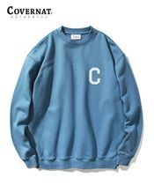 COVERNAT Sweatshirts Long Sleeves Logo Sweatshirts 14