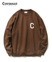COVERNAT Sweatshirts Long Sleeves Logo Sweatshirts 15