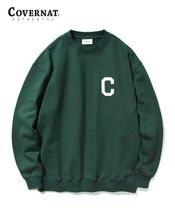 COVERNAT Sweatshirts Long Sleeves Logo Sweatshirts 16