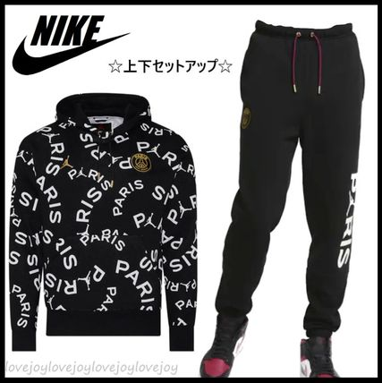 Nike AIR JORDAN Street Style Collaboration Co-ord Sweats Two-Piece Sets