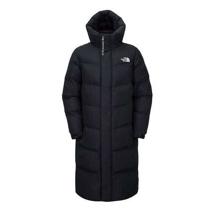 THE NORTH FACE WHITE LABEL Casual Style Unisex Street Style Plain Long Logo Coats