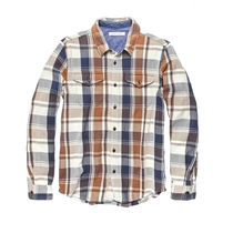 Outer known Button-down Other Plaid Patterns Unisex Street Style