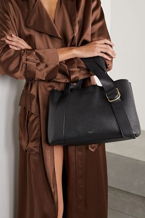 Casual Style Leather Office Style Totes