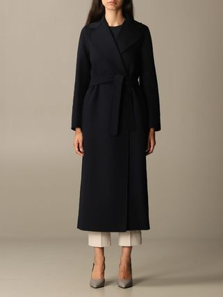 MaxMara Casual Style Plain Long Coats