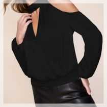 Lipsy Casual Style Long Sleeves Plain Party Style Elegant Style