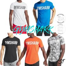 GymShark Blended Fabrics Street Style Military Activewear Tops