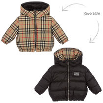 Burberry Unisex Street Style Baby Girl Outerwear