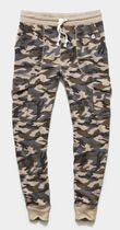 CHAMPION Printed Pants Camouflage Street Style Collaboration Cotton