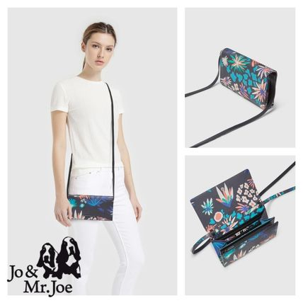 Flower Patterns Casual Style Crossbody Shoulder Bags