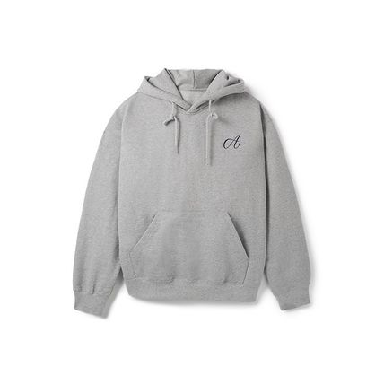 Plain Medium Logo Hoodies & Sweatshirts