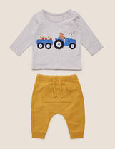 Marks&Spencer Unisex Co-ord Baby Boy Tops