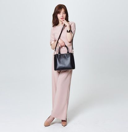 Dungarees Casual Style Maxi Street Style Cropped Plain Long