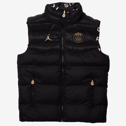 Nike Unisex Street Style Collaboration Logo Vests & Gillets