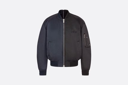 Christian Dior Dior And Judy Blame Bomber Jacket
