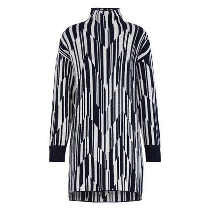 Short Stripes Casual Style Bi-color Cropped Long Sleeves