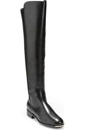 Suede Leather Over-the-Knee Boots