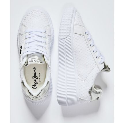 Rubber Sole Casual Style Low-Top Sneakers