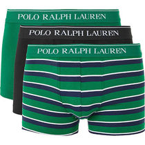 Ralph Lauren Stripes Cotton Logo Briefs