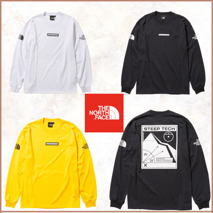 THE NORTH FACE Unisex Long Sleeves Long Sleeve T-shirt Logo Outdoor