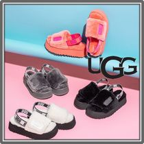 UGG Australia Casual Style Street Style Party Style Logo Sandals