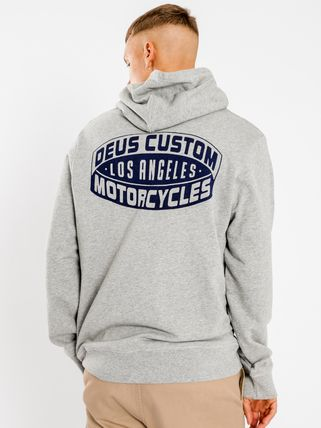 Deus Ex Machina Hoodies Unisex Long Sleeves Logo Surf Style Hoodies