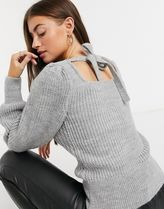 ASOS Cable Knit Casual Style Rib Long Sleeves Plain Medium