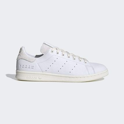 adidas STAN SMITH Rubber Sole Casual Style Street Style Plain Leather Logo