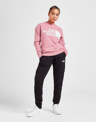 THE NORTH FACE Logo Casual Style Sweat Bi-color Plain Street Style