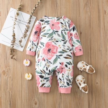 PatPat Front Button Baby Girl Dresses & Rompers