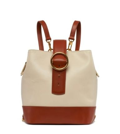 Casual Style 2WAY Plain Leather Elegant Style Backpacks
