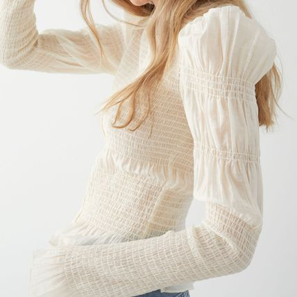 & Other Stories Casual Style Long Sleeves Plain Party Style Office Style