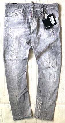 D SQUARED2 Cotton Handmade Skinny Jeans
