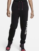 Nike AIR JORDAN Unisex Street Style Collaboration Logo Pants