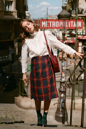 Pencil Skirts Flared Skirts Other Plaid Patterns
