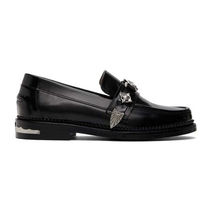 Leather Loafer & Moccasin Shoes