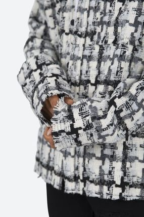 MNML Shirts Button-down Other Plaid Patterns Unisex Street Style 3