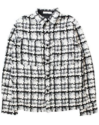 MNML Shirts Button-down Other Plaid Patterns Unisex Street Style 7