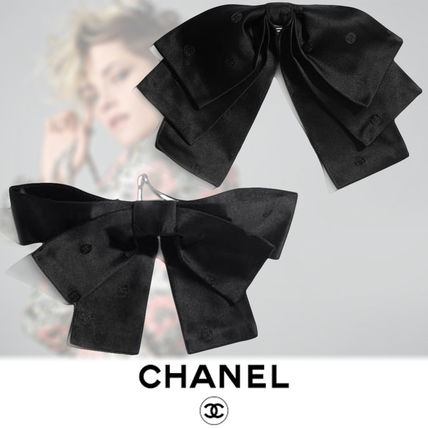 CHANEL Barettes Party Style Elegant Style Formal Style  Clips
